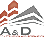 A & D Construction – ΚΑΤΑΣΚΕΥΑΣΤΙΚΗ ΕΤΑΙΡΙΑ – ΚΑΤΑΣΚΕΥΗ ΑΝΑΚΑΙΝΙΣΗ ΜΕΛΕΤΗ ΕΠΙΒΛΕΨΗ Logo